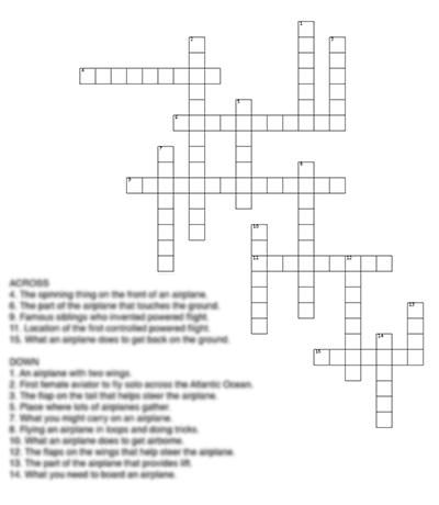 Easy Crossword Puzzle Thumbnail