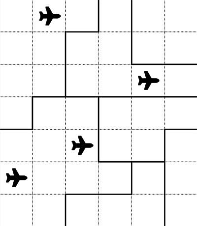 Stealth Jet Radar Puzzle Thumbnail