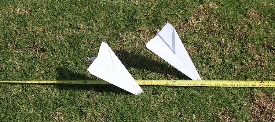 Measuring Airplane Distance